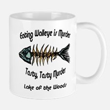 Eating Walleye is Murder Mug