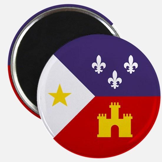 Cajun Flag Magnet