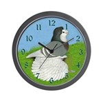 Opal English Trumpeter Wall Clock