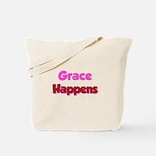 Grace Happens Tote Bag