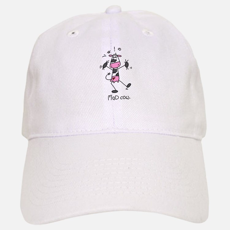 Mad Cow Baseball Baseball Cap