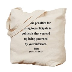 Plato 5 Tote Bag