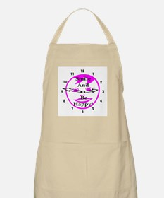 Smile and Be Happy! BBQ Apron
