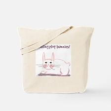 Plot Bunny Tote Bag