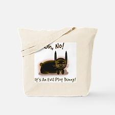 Evil Plot Bunny Tote Bag