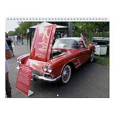 Classic Cars Wall Calendar