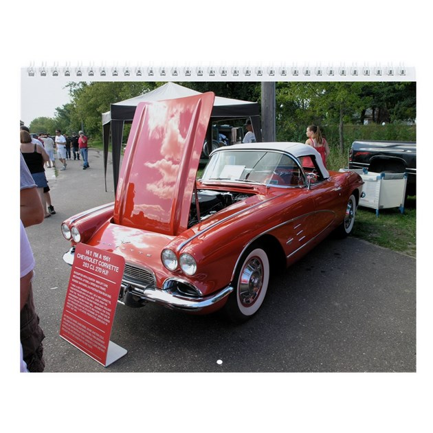 classic cars wall calendar by gunnary2