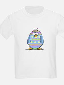 Blue Easter Egg Penguin T-Shirt