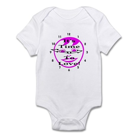 It's Time To Love! Infant Bodysuit