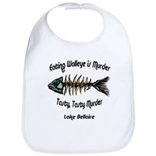 Eating Walleye is Murder Bib
