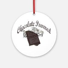 Chocolate Powered Ornament (Round)