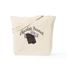 Chocolate Powered Tote Bag