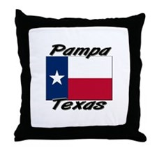 Pampa Texas Throw Pillow