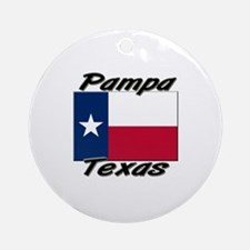 Pampa Texas Ornament (Round)