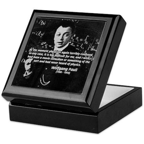 Wolfgang Pauli: Principles in Physics Keepsake Box
