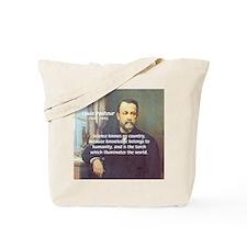 Louis Pasteur: Science Humanity Tote Bag