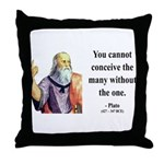 Plato 7 Throw Pillow