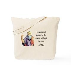 Plato 7 Tote Bag