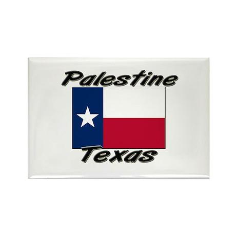 Palestine Texas Rectangle Magnet