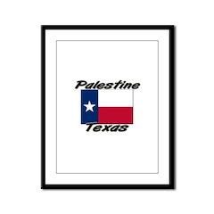Palestine Texas Framed Panel Print