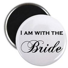 With The Bride Magnet