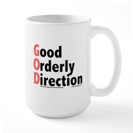 GOD Large Mug