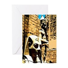 Ramses & Sekhmet - Greeting Cards (Pk of 10)