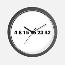 Cute Numbers lost Wall Clock