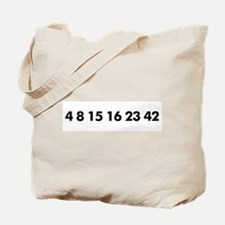 Unique Tv lost numbers Tote Bag