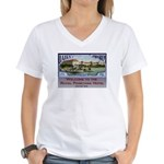 Poinciana Collection Women's V-Neck T-Shirt