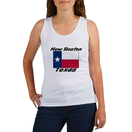 New Boston Texas Women's Tank Top