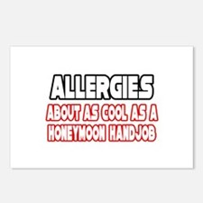 """""""Allergies Are Not Cool"""" Postcards (Package of 8)"""