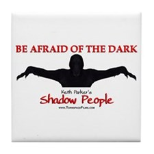 Shadow People - Logo Tile Coaster