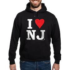 I LOVE NJ (Red Heart) Hoody