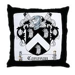 Canavan Coat of Arms Throw Pillow