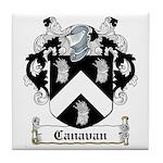 Canavan Coat of Arms Tile Coaster