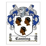 Canning Coat of Arms Small Poster