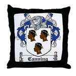 Canning Coat of Arms Throw Pillow