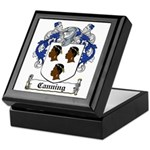 Canning Coat of Arms Keepsake Box