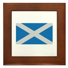 scotland flag scottland Framed Tile