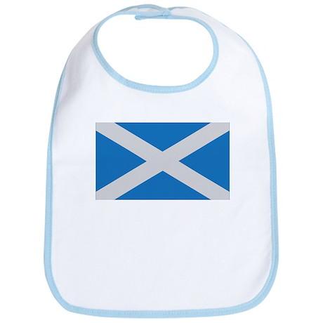 scotland flag scottland Bib