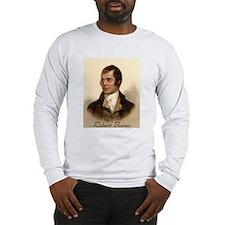 Robert Burns Portrait Long Sleeve T-Shirt