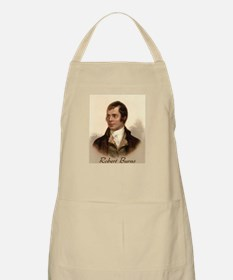 Robert Burns Portrait BBQ Apron
