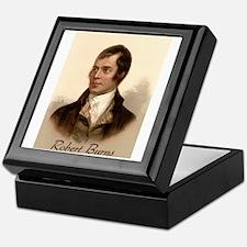 Robert Burns Portrait Keepsake Box
