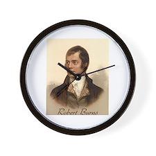 Robert Burns Portrait Wall Clock