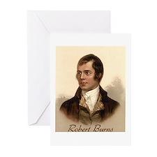 Robert Burns Portrait Greeting Cards (Pk of 10)