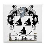 Cantelow Coat of Arms Tile Coaster