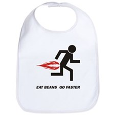 Eat Beans Bib