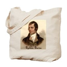 Rabbie Burns Portrait Tote Bag