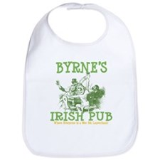 Byrne's Irish Pub Personalized Bib